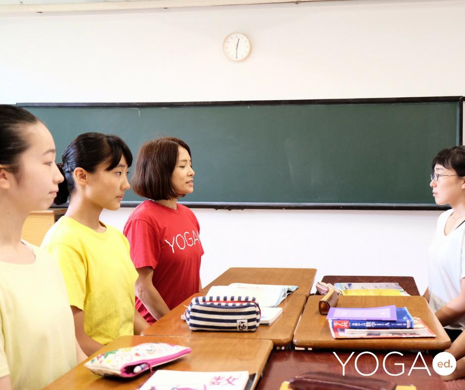 <東京>YogaEd.教師指導ツールワークショップ8時間Teensチェアヨガ